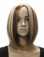 European and American Fashion Girl Straight Hair Natural Wigs