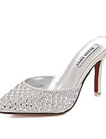 Women's Shoes Stiletto Heel Heels/Pointed Toe Sandals Casual Silver/Gold