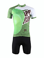 Men's Cycling Jersey & Short Sleeves Cycling Bib Shorts Kit Cycling Clothing Set