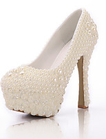 Women's Shoes Stiletto Heel Heels Pumps/Heels Wedding/Party & Evening White