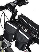 Rain-Proof/Multifunctional Bike Frame Bag Cycling  Red/Gray/Black/Blue 600D Ripstop