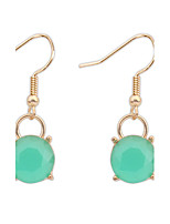 Women's Fashion Simple Resin Drop Earrings