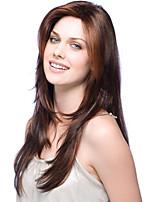 capless haute qualité longs ondulés mono top remy vierge perruques de cheveux humains 7 couleurs à choisir