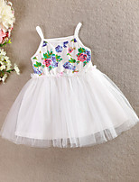 Girl's Cotton/Mesh Dress/Tank & Cami , Summer Sleeveless