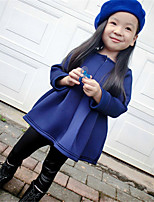 Girl's Acrylic Dress , Spring/Fall Long Sleeve