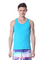 Yokaland Hombres Yoga Tops / Chalecos Sin Mangas Transpirable / Secado rápido / Capilaridad Blanco / Verde / Azul Yoga / Pilates / Fitness