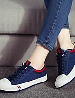 Scarpe Donna Di corda Piatto Comoda/Decolleté con cinturino/Punta arrotondata/Chiusa Sneakers alla moda Formale/Casual/Sportivo