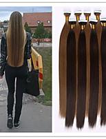 3Pcs/Lot 2.5G/S 100G/PC Glue Skin Weft/Tape In Hair Keratin Hair Extension Brazilian Human Virgin Straight Hair In Stock
