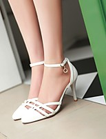 Women's Shoes  Stiletto Heel Pointed Toe Sandals Office & Career/Dress Blue/Pink/Purple/White