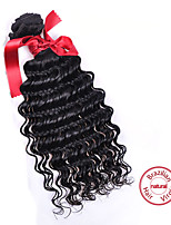 EVET Unprocessed Virgin Brazilian Hair Loose Wave Weave Extensions 1pc 100g/pc Brazilian Human Hair With Natural Color