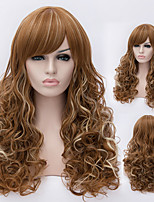European And American High-Quality High-Temperature Wire Length Curly Hair Wig Fashion Girl Necessary