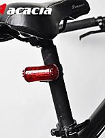 acacia leds bicicleta lámpara de luz trasera LED bicicleta manillar de la bicicleta de la luz trasera de la bici de nuevo la luz trasera