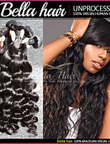 Brésilien Extensions de Cheveux Bundles 3pcs/lot Humain Cheveux Lisse Loose Deep non Transformé