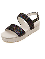 Women's Shoes  Low Heel Mary  Sandals Casual Purple/Silver