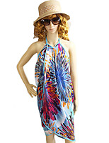 New Style Colorful Flower Printed Multipurpose Dress Magic Scarf