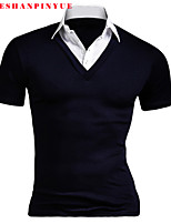 Quality Cotton 2015 Men Short Sleeve Sport MEn With short sleeves