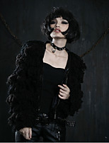 PUNK RAVE Y-386 Women's Vintage Medium Long Sleeve Regular Coat