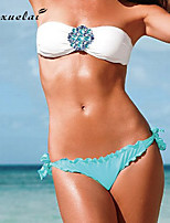 Women's Bikinis , Solid Underwire Bra Nylon/Polyester Multi-color