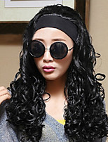Europe and the United States High Quality Fashion Black Curly Wig