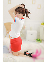 Women Uniforms & Cheongsams Nightwear , Cotton Blends/Polyester