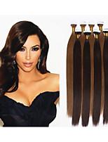 1pc / lotto estensioni vergini dei capelli del nastro umani 2.5g / pc, 40pcs / estensioni dei capelli brasiliani pacchetto nastro di pelle