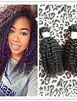 3Pcs/Lot Brazilian Afro Kinky Curly Virgin Human Hair Weft Weaves Unprocessed Virgin Hair Bundles Top Quality