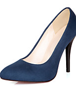 Women's Shoes Stiletto Heel Heels/Pointed Toe Pumps/Heels Office & Career/Dress Black/Blue/Red