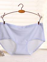 One Piece Seamless Underwear Sexy Bikini Comfortable Breathable Underwear Lattice (5 Colors Can Choose)