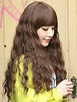 Europe and The High Quality The Stylish Long Hair Temperament of Natural Black Hair Wigs