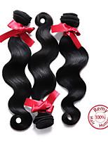 EVET Brazilian Hair Body Wave Virgin Hair Extensions Human Hair Body Wave Natural Color 3pcs/lot Weave Bundles