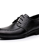 2015 New Fashion Hot Sale Men's Shoes Office & Career/Casual Leather Oxfords Black
