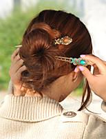 Dish hair pins hair accessories, costume ancient han edition hair clasp hairpin headdress