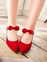Women's Shoes  Stiletto Heel Heels/Pointed Toe Pumps/Heels Office & Career/Dress Black/Blue/Red