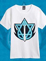Full Time Master Lan Yu Clan White T-shirt Cosplay Costumes