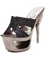 Women's Shoes Glitter Stiletto Heel Platform Slingback Comfort Novelty Sandals Party More Colors available