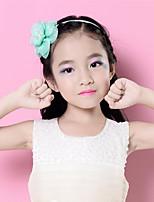 Girls Sinamay Rhinestone Flower Headband Children Fascinator (more colors) SFD2804
