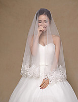 Wedding Veil One-tier Fingertip Veils