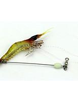 1pcs Fishing Bait Luminous Soft Shrimp Lures