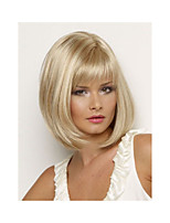2015 Hot Sale New Synthetic Wigs Short Straight Hair Blonde Wig For Women Glamorous Fashion