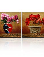 Panel star®2 visual lona estirada pintura al óleo de la flor del wth alta calidad