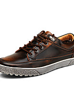 British Style Men's High Quality Leather Flats Corlor-Changed Shoes for Walking/Party/Office