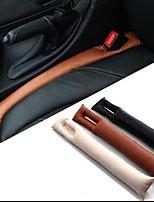 2pcs falso relleno del cojín del coche de cuero brecha asiento Funda protectora acolchado relleno espaciador