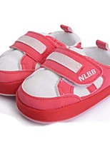 Baby Shoes Casual Athletic Shoes Red/Tan
