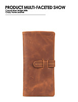 Bi-fold (due scomparti) - Portafoglio / Porta carte di credito / Porta assegni - Unisex - PU / Vacchetta - Beige / Marrone / Grigio / Nero