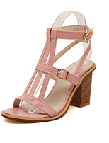 Women's Shoes Chunky Heel Comfort Sandals Casual Blue/Pink/Beige
