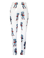 Women Print Legging , Polyester Thin