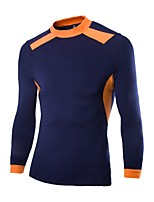 Men's Long Sleeve T-Shirt , Silk Casual/Sport