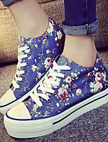 Women's Shoes Floral Platform Comfort Round Toe Fashion Sneakers More Colors