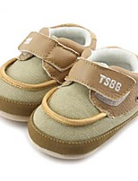 Baby Shoes Casual Fabric Fashion Sneakers Blue/Taupe