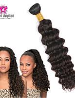 3pcs lot 8-26 pouces 5a non transformés brésilienne de cheveux vierge vague profonde humains extensions de cheveux naturels de tissage de